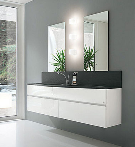Zen White 600mm Floor Standing Vanity Unit amp Basin with