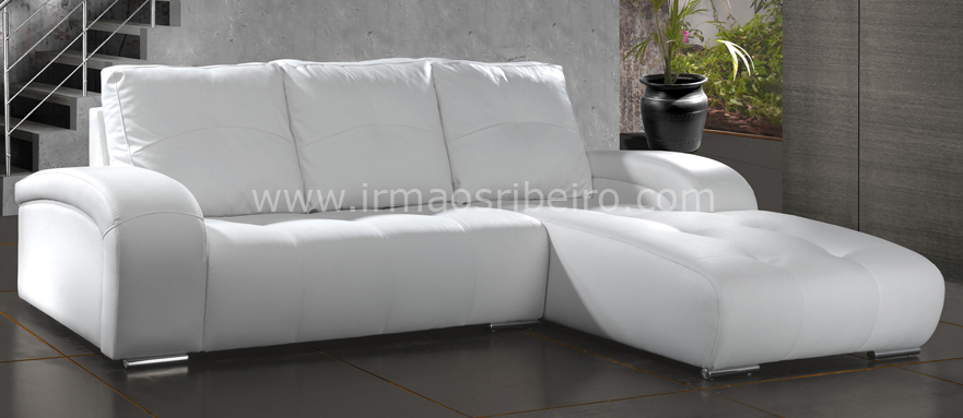 Sof chaise longue vivaldi irm os ribeiro mobili rio for Sofas chaise longue pequenos